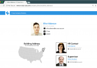Elliot's ecorp Employee Profile