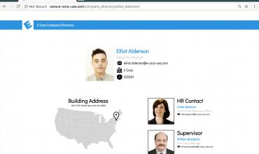 Elliot's ecorp Employee Profile