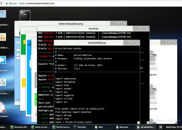 fsoc terminal commands